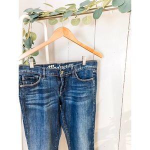 Madewell Rail Straight Jeans 29x32